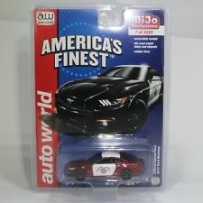 CHASE, MIJO Exclusive Auto World Ultra Red 2017 Ford Mustang CHP Police Car