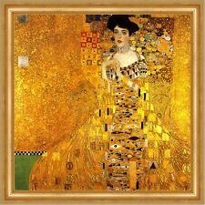 Adele Bloch-Bauer I Goldene Jugendstil Secession Bütten Gustav Klimt A3 049