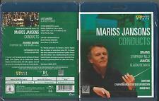 Mariss Jansons - Brahms (Sinf. 2) & Janacek (Glagolitische Messe) [Blu-ray] Neu
