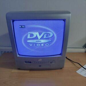 Durabrand dct1481s DVD/ TV Combo CRT TV Retro Gaming Monitor no Remote