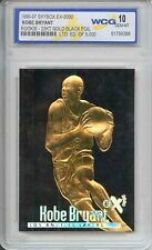 RARE Gem-mint 10 Kobe Bryant 1996 SkyBox 23k Black Gold Rookie Card