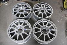 "4 X Nuevo Genuino Speedline Corse 17"" Fiesta Alloy Wheels flowformed Turini Plata"