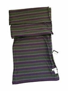 Reversible MAINLINE Stripe Scarf Men New 165cm x 25cm Paul Smith