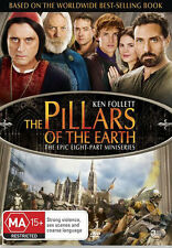 The Pillars of the Earth (Ken Follett) (8 Part Mini Series) * NEW DVD *