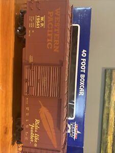 G Scale USA Trains Western Pacific 40' Box Car (R19219C)