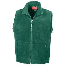 Mens Womens Bodywarmer Gilet Body Warmer Fleece Sleeveless Jacket Coat S–3XL