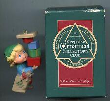 Armful of Joy - Hallmark Keepsake Ornament Collector's Club - with Box - 1990