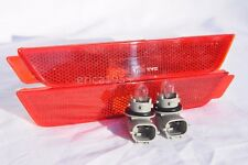Rear Side Marker Parking Light Lamp One Pair for 2010 Chevy Camaro w/o Tow Hook