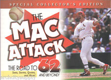 33 BOOKS:The Mac Attack: The Road to 62 and Beyond! - NEW - UNUSED      #ACS-MAC