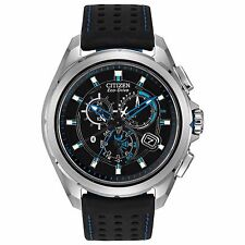 Citizen Eco-Drive Men's AT7030-05E Proximity Bluetooth Chronograph 46mm Watch