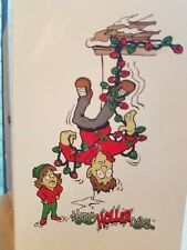 HappyHollerdays Humorous Christmas Greeting Cards Tangled Dad 8-Pack w/Envelopes