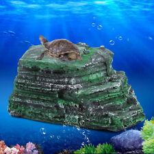 Aquarium Tank Decoration Reptile Turtle Basking Terrace Resin Island Platform