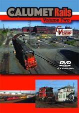 Calumet Rails Volume 2 DVD NEW CVision Indiana Harbor Canadian National Matteson