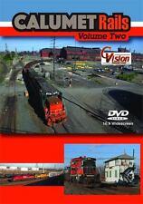 Calumet Rails Volume 2 DVD NEW CVision Indiana Harbor Canadian National Matteson