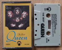 QUEEN - THE BEST (IMD 8389) RARE UNOFFICIAL CASSETTE TAPE