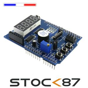 5229# arduino UNO R3 shield multifonction-Multi Function Shield for Arduino UNO