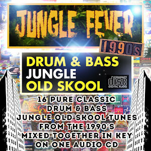 Jungle Fever DRUM & BASS JUNGLE OLD SKOOL 1990's dj MIXED CD NEW 2018 MUSIC MIX
