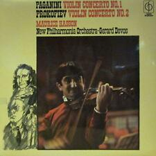 Paganini &  Prokofiev(Vinyl LP)Violin Concerto No. 1 in D -EMI-CFP 40052-NM/NM
