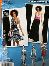 Simplicity 2212.  Sizes 4-12.  Project Runway Design.  Dresses.