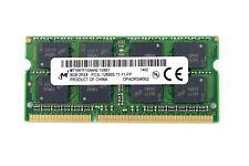 MIcron 8 GB DDR3 1600 12800 Non-ECC SODIMM 204-Pin Memory MT16KTF1G64HZ-1G6E1