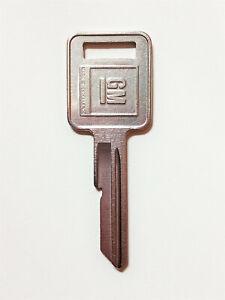 GM E Ignition key blank 1969 1973 1977 1981 Chevy Pontiac Olds Buick P1098E B44