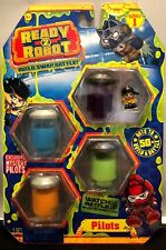 NEW! READY 2 ROBOT PILOTS ~ EXCLUSIVE MYSTERY PILOTS ~ SERIES 1