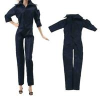 1 PCS Fashion Outfit Black Jumpsuit For 11 in. Doll Clothes J2B1