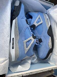 jordan 4 retro university blue mens sneakers
