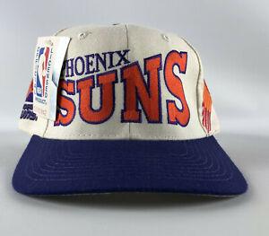 Phoenix Suns Baseball Hat Apex One White Purple Orange Vintage 1990s Size 7 1/8