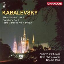 Kabalevsky: Piano Concerto Nos. 1 & 4; Symphony No. 2, New Music