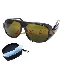 T4S1 Laser Safety Goggles For 190-450 & 800-2000nm IR Laser OD>4 CE 808 980 1064