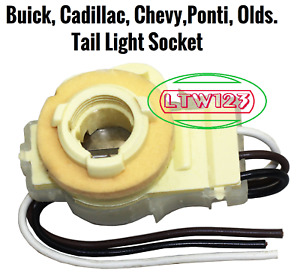 1977-1980+ Bulb Socket Tail park, turn Cadillac, Buick, chevy, Ponti, Olds