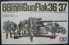 TAMIYA mm117 1500-German 88mm Gun Flak 36/37 - 1:35 - MODELLO KIT MODEL KIT