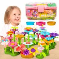 Flower Garden Building Toys Kinder Spielzeug  Bausteine Blöcke for 3,4,5,6 Jahre