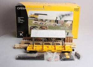 K-Line K42450 O Scale Operating Sawmill LN/Box