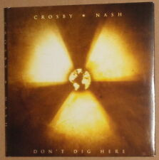 Crosby & Nash - Don't Dig Here / Another Stoney Evening - 2 CDs Rare Promo