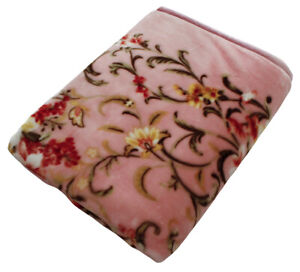 Blanket Floral Pattern Warm Cute Soft Lily Flower Soft Comfortable140×200cm