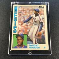 DWIGHT GOODEN 1984 TOPPS TRADED #42T ROOKIE CARD XRC NEW YORK METS DR K