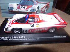 PORSCHE 956 24 H DU MANS 83 LAMMERS ixo 1/43 voiture miniature collection
