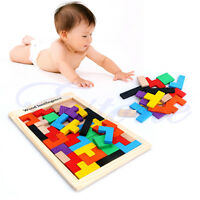 New Tetris Pentominoes Solid Wood Jigsaw Intelligence Wooden Game