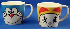 Doraemon & Dorami Face Mug Set of 2 Made in Japan
