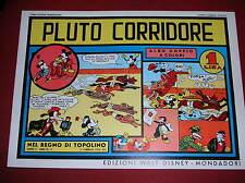 """NEL REGNO DI TOPOLINO  N° 12  """" PLUTO CORRIDORE """"  -  COMIC ART 1982"""