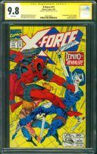X Force 11 CGC 9.8 SS Zazie Beetz 1st Domino vs Deadpool Ryan Reynolds Movie