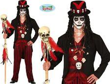 Hommes Halloween Voodoo Sorcière Docteur Costume Déguisement Papa Fg