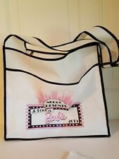 "Nbdcc ""A Star is Barbie"" white Tote Bag Barbie 2015 National Barbie Convention"
