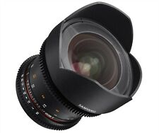 Samyang 14mm T3.1 ED AS IF UMC Mk.2 VDSLR Cine Lens Canon EF Mount- Open Box