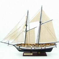 Classical Wooden Sailing Boat Assembly Model Harvey Scale Ship Kits 1/130