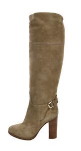 Ralph Lauren Purple Label Collection Suede Leather Hazel Riding Boots New