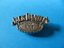 Jack Daniels Whiskey Oval metal pin badge. VGC. Unused. Whisky. (C)