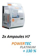 2x AMPOULES H7 POWERTEC XTREME +130 BMW HP 4 (K42)
